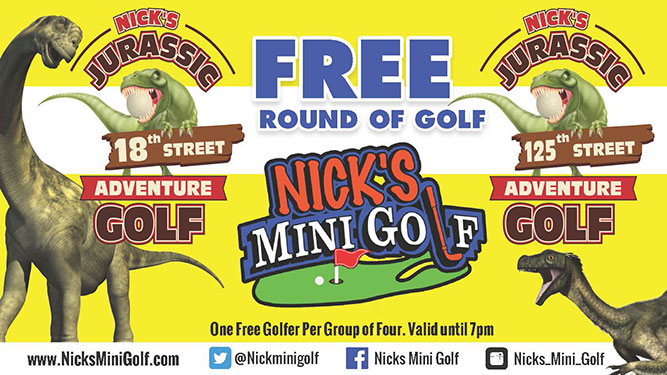 Mini golf near me coupons